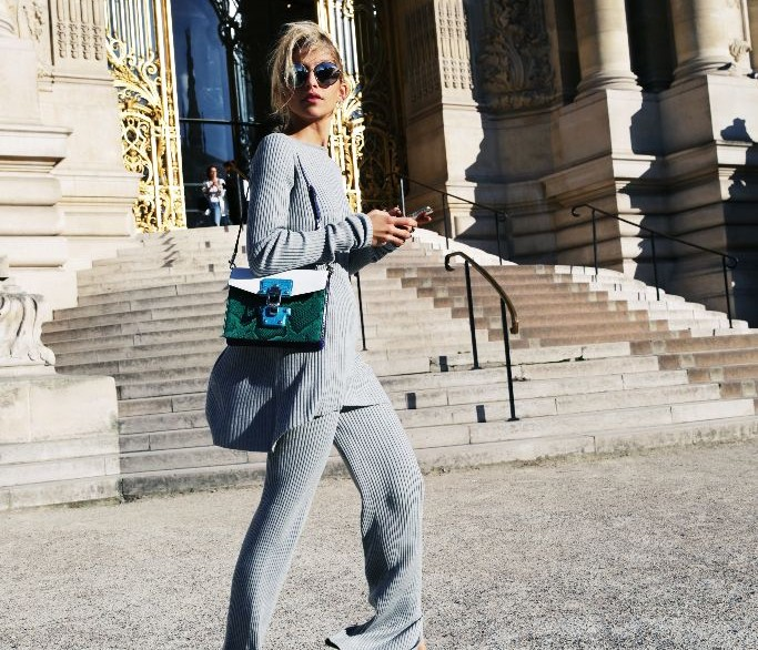 ALL-GREY LOOK | PARIS FASHION WEEK // ADVERTISEMENT